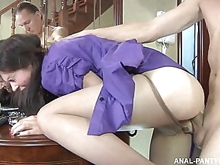 anal blowjob brunette at vPorn