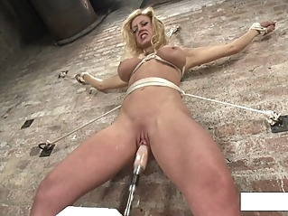 bdsm big tits fuck machine at vPorn