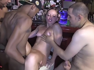 gangbang group sex interracial at vPorn