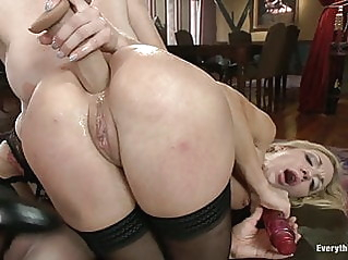 anal blonde sex toy at vPorn