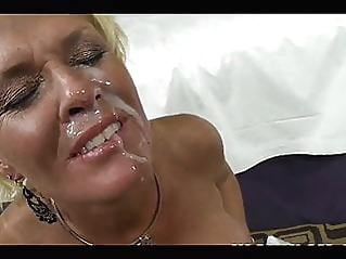 cumshot mature facial at vPorn