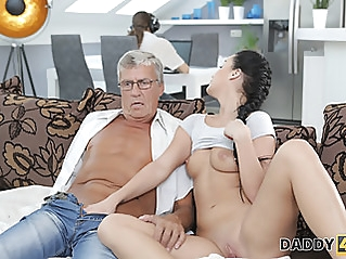 blowjob old & young cuckold at vPorn