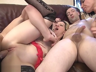anal blonde brunette at vPorn
