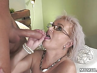 blonde blowjob old & young at vPorn