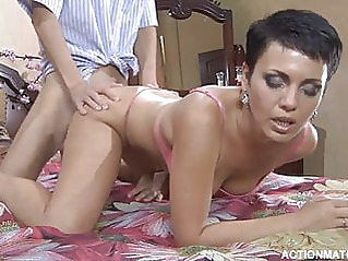 brunette milf russian at vPorn
