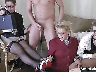 blowjob lingerie swingers at vPorn