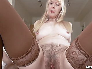 blonde blowjob hairy at vPorn