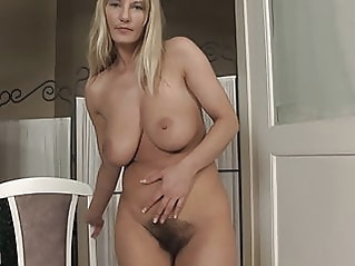 fingering hairy milf at vPorn