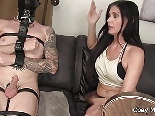 cumshot handjob bdsm at vPorn