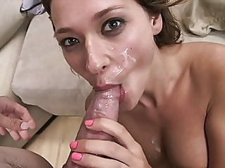 blowjob cumshot pornstar at vPorn