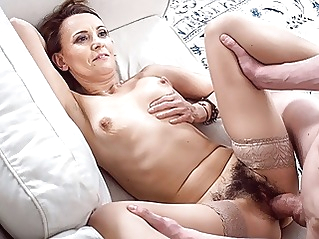 blowjob hairy mature at vPorn