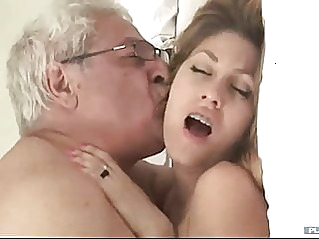 blonde old & young old man fuck at vPorn