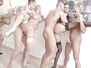 anal group sex double penetration at vPorn
